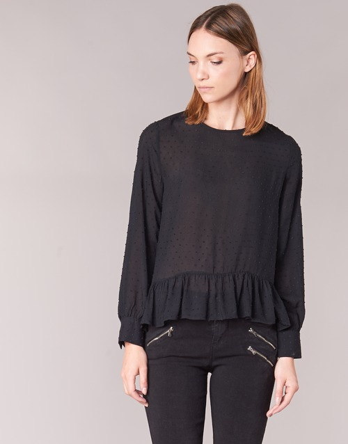 Vêtements Femme Tops / Blouses Moony Mood HARMO Noir
