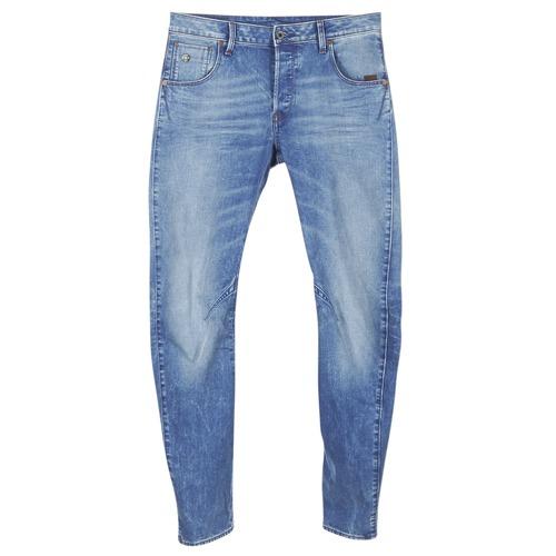 Vêtements Homme Jeans slim G-Star Raw ARC 3D SLIM Lt aged Itano stretch denim