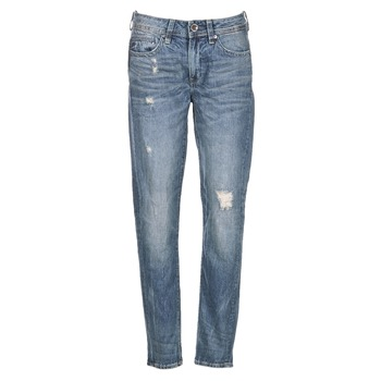 Vêtements Femme Jeans boyfriend G-Star Raw MIDGE SADDLE BOYFRIEND WMN Bleu
