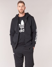 Vêtements Homme Sweats adidas Originals ESS LIN FZHOODB Noir