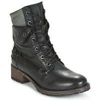 Chaussures Femme Boots Pataugas DEDAY Noir