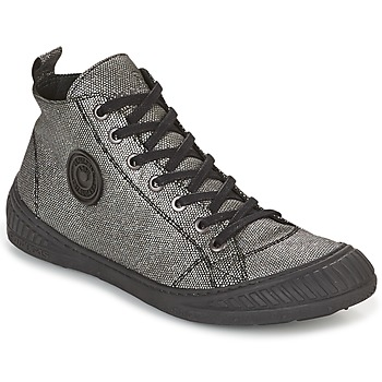 Chaussures Femme Baskets montantes Pataugas ROCKER Argent