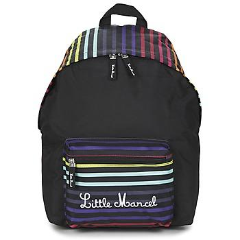 Sacs Femme Sacs à dos Little Marcel SATURNIN Noir / Multicolore