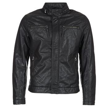 Vêtements Homme Vestes en cuir / synthétiques Esprit VARDA Noir