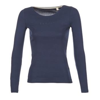 Vêtements Femme T-shirts manches longues Esprit GIMUL Marine