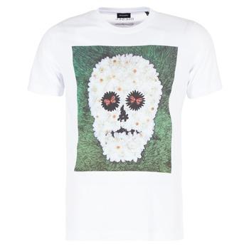 Vêtements Homme T-shirts manches courtes Diesel JOE QM Blanc