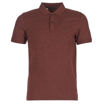 Vêtements Homme Polos manches courtes Selected ARO Bordeaux