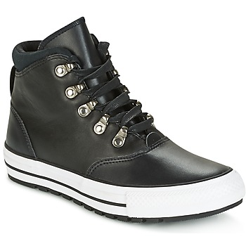 Chaussures Femme Baskets montantes Converse CHUCK TAYLOR ALL STAR EMBER BOOT SMOOTH LEATHER HI Noir / Blanc