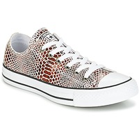 Chaussures Femme Baskets basses Converse CHUCK TAYLOR ALL STAR FASHION SNAKE OX BROWN/BLACK/WHITE Noir / Blanc