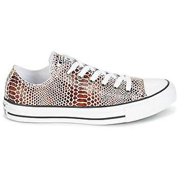 Converse CHUCK TAYLOR ALL STAR FASHION SNAKE OX Noir / Blanc