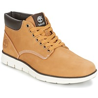 Chaussures Air max tnHomme Baskets montantes Timberland BRADSTREET CHUKKA LEATHER Marron