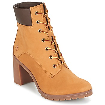 Chaussures Femme Bottines Timberland ALLINGTON 6IN LACE UP Marron