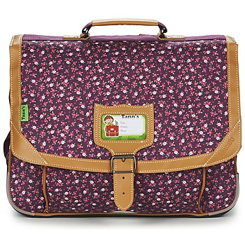 Sacs Fille Cartables Tann's EXCLU CHERRY CARTABLE 38CM Gris / Rose