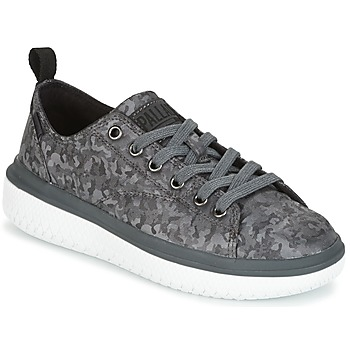 Chaussures Femme Baskets basses Palladium CRUSHION LACE CAMO Noir / Gris