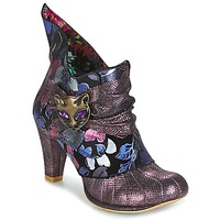 Chaussures Femme Low boots Irregular Choice MIAOW Violet