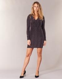 Vêtements Femme Robes courtes Morgan RIKRAK Noir