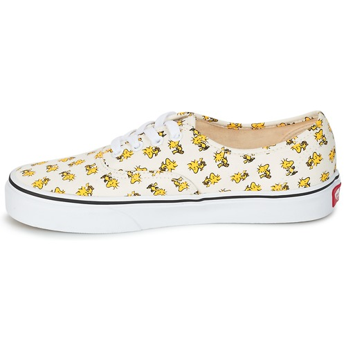 Vans AUTHENTIC SNOOPY Blanc / Jaune 5kAA2XjPMY