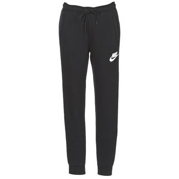 Vêtements Femme Pantalons de survêtement Nike RALLY PANT Noir / Blanc
