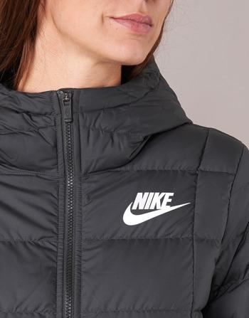 Nike DOWN FILL PARKA Noir / Blanc