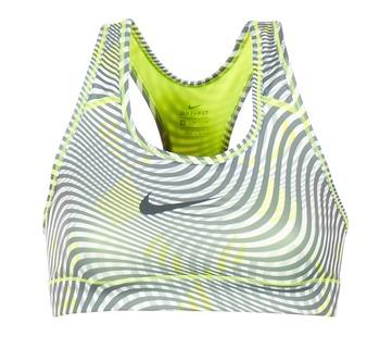 Vêtements Femme Brassières de sport Nike NIKE PRO CLASSIC BRA Jaune / Gris