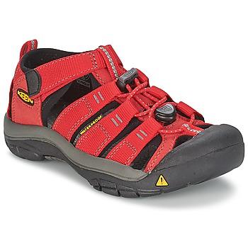 Chaussures Enfant Sandales sport Keen KIDS NEWPORT H2 Rouge / Gris