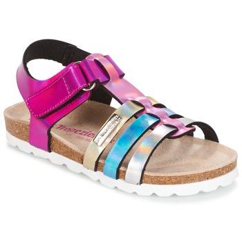 Chaussures Fille Sandales et Nu-pieds Les Tropéziennes par M Belarbi POLINA Rose / Bleu / Argenté