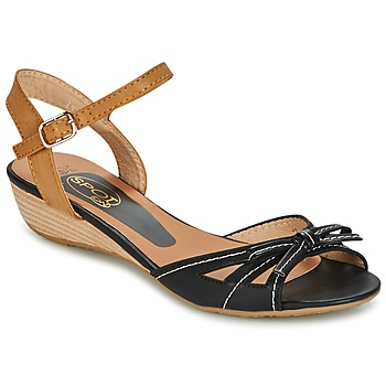 Chaussures Femme Sandales et Nu-pieds Spot on  BLACK