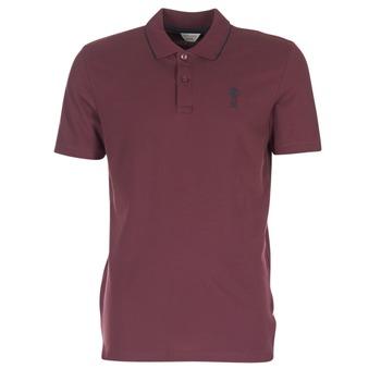 Vêtements Homme Polos manches courtes Jack & Jones STONE CORE Bordeaux