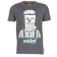 Vêtements Homme T-shirts manches courtes Jack & Jones CRIPTIC ORIGINALS Gris