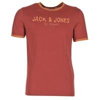 Vêtements Homme T-shirts manches courtes Jack & Jones RETRO ORIGINALS Rouge