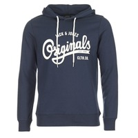Vêtements Homme Sweats Jack & Jones HAWL ORIGINALS Marine