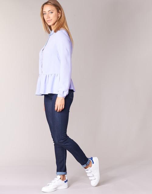 Betty London IHALONI Bleu - Chaussure pas cher avec- Vêtements Blouses Femme 3499 iINHno6S