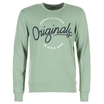 Vêtements Homme Sweats Jack & Jones SWEEP ORIGINALS Vert