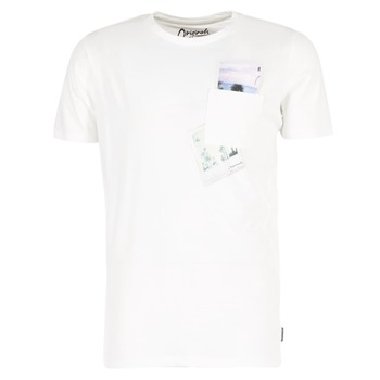 Vêtements Homme T-shirts manches courtes Jack & Jones CHECK ORIGINALS Blanc