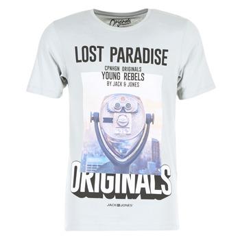 Vêtements Homme T-shirts manches courtes Jack & Jones FASTER ORIGINALS Gris