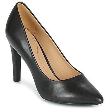 Chaussures Femme Escarpins Geox D CAROLINE C - NAPPA NOIR