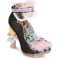 Chaussures Femme Escarpins Irregular Choice ALL ABOUT MOI Black
