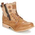 Chaussures Femme Boots Bunker SARA TAUPE