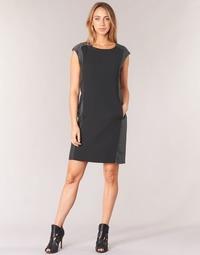 Vêtements Femme Robes courtes Armani jeans LAMIC Noir / Gris