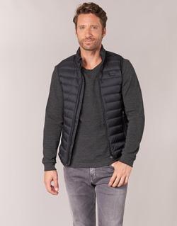 Vêtements Homme Doudounes Armani jeans CHORI Noir