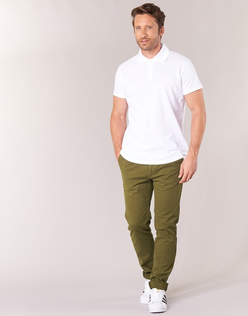 Vêtements Homme Chinos / Carrots Scotch & Soda STUART Kaki