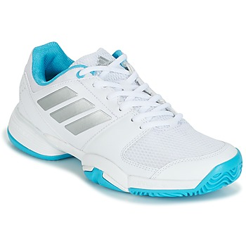 Chaussures Running / trail adidas Performance Barricade Club xJ Blanc/bleu