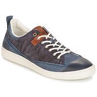 Chaussures Homme Baskets basses Kickers SANTA FE BLEU