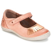 Chaussures Fille Ballerines / babies Kickers CALYPSO Corail