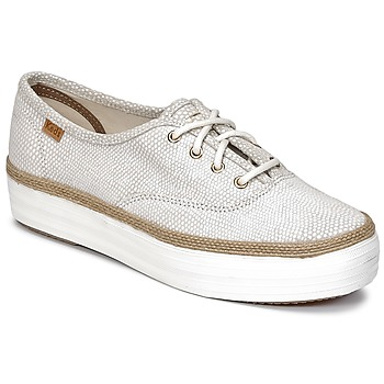 Chaussures Femme Baskets basses Keds TRIPLE DALMATA DOT LEATHER CREAM