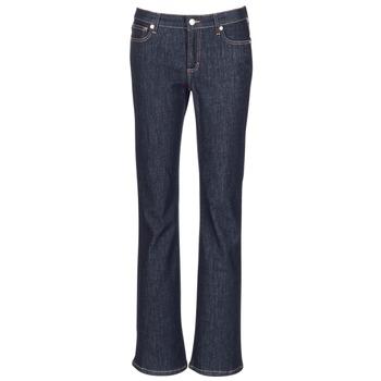 Vêtements Femme Jeans droit Yurban HEKIKOU Bleu