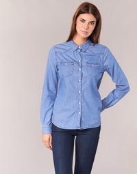 Vêtements Femme Chemises / Chemisiers Yurban IHEFOU Bleu