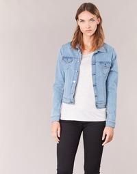 Vêtements Femme Vestes en jean Yurban IHELEFI Bleu clair