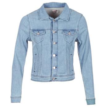 Vêtements Femme Vestes en jean Yurban HELEFI Bleu clair