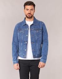 Vêtements Homme Vestes en jean Yurban IHEDEM Bleu medium